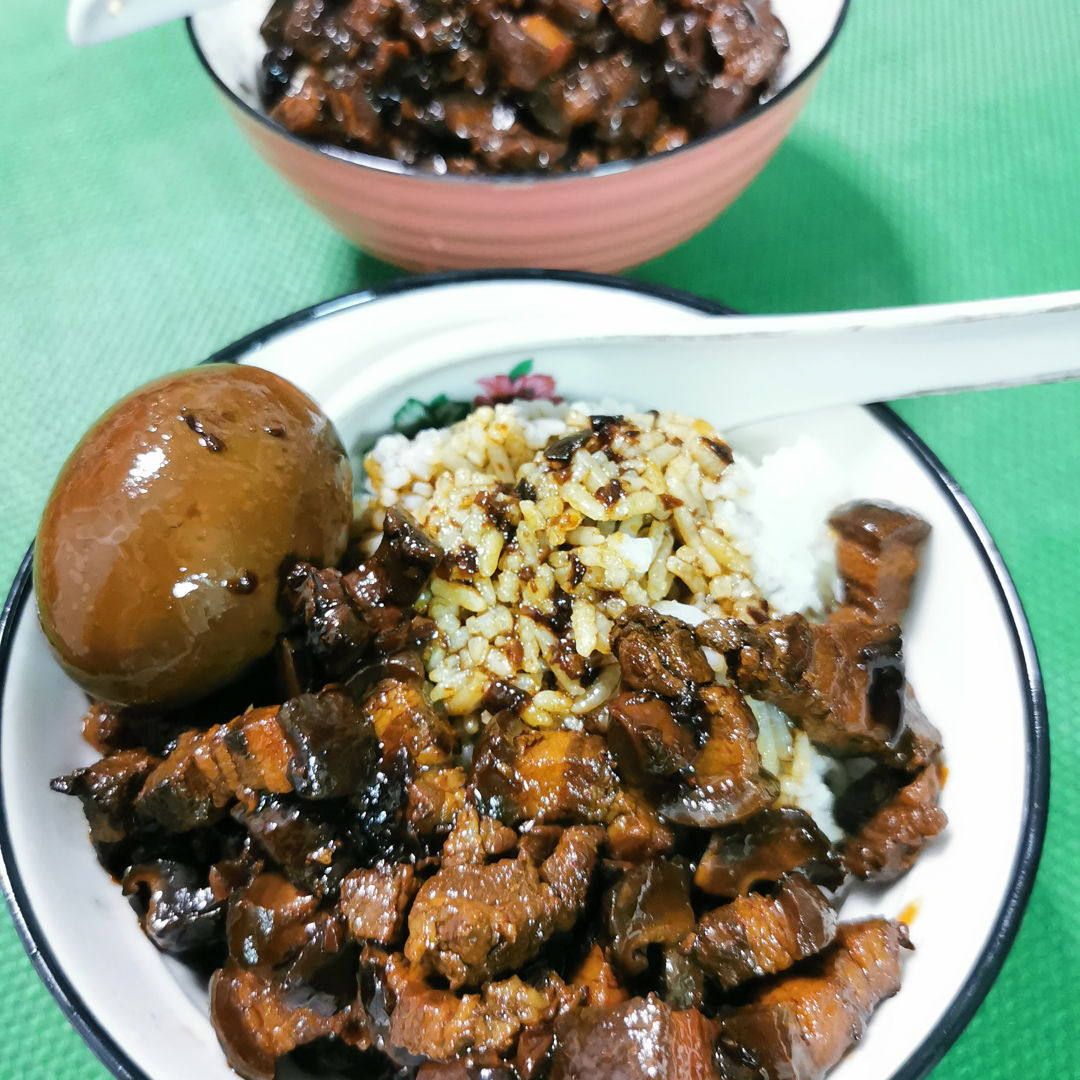 Taiwan Braised Pork Rice