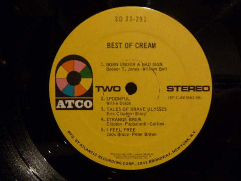 Cream - Best Of. Atco Yellow Label