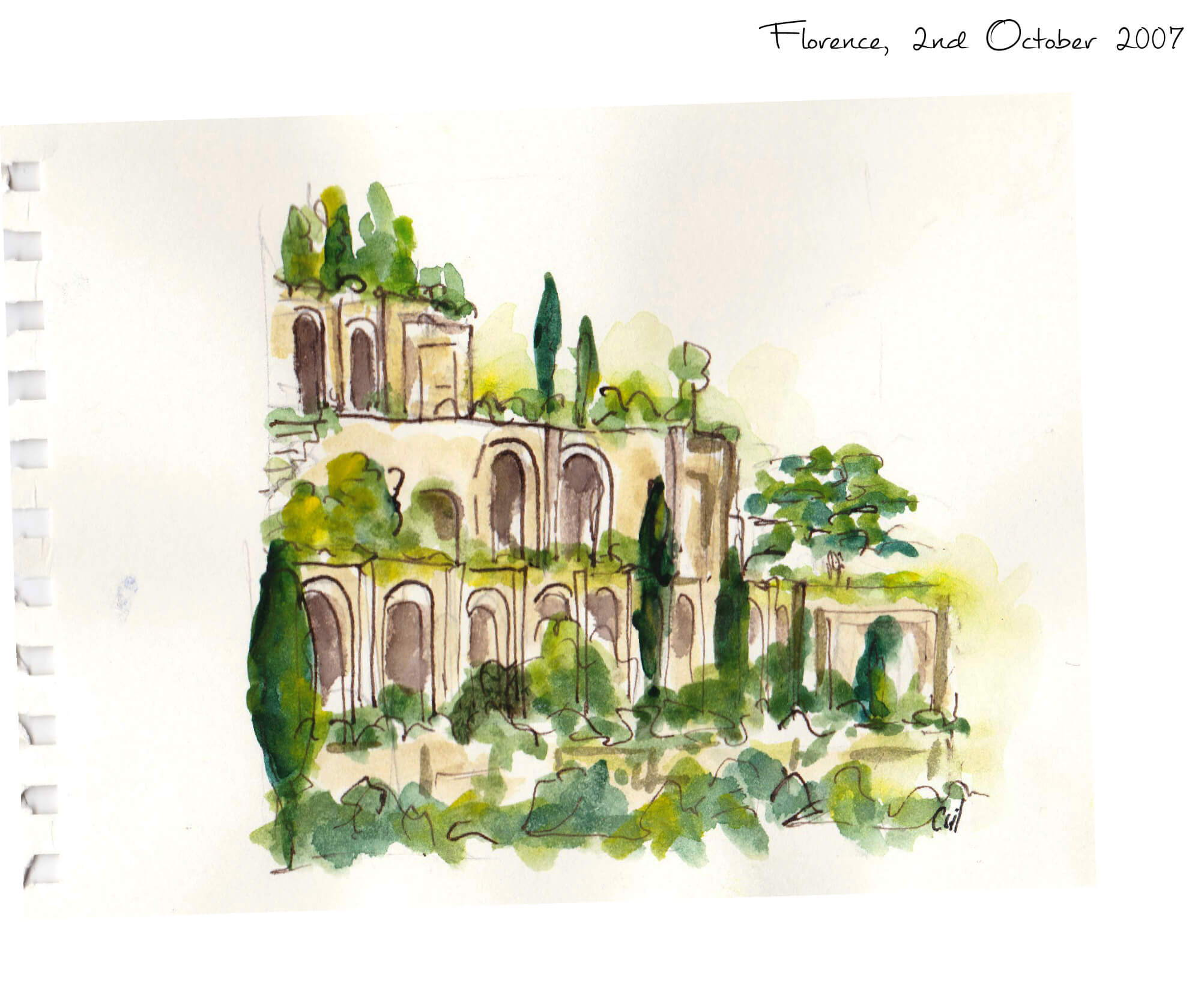 Bois de Babylone Inspiration behind this woody leather unisex perfume, Florence Italy and the Boboli garden
