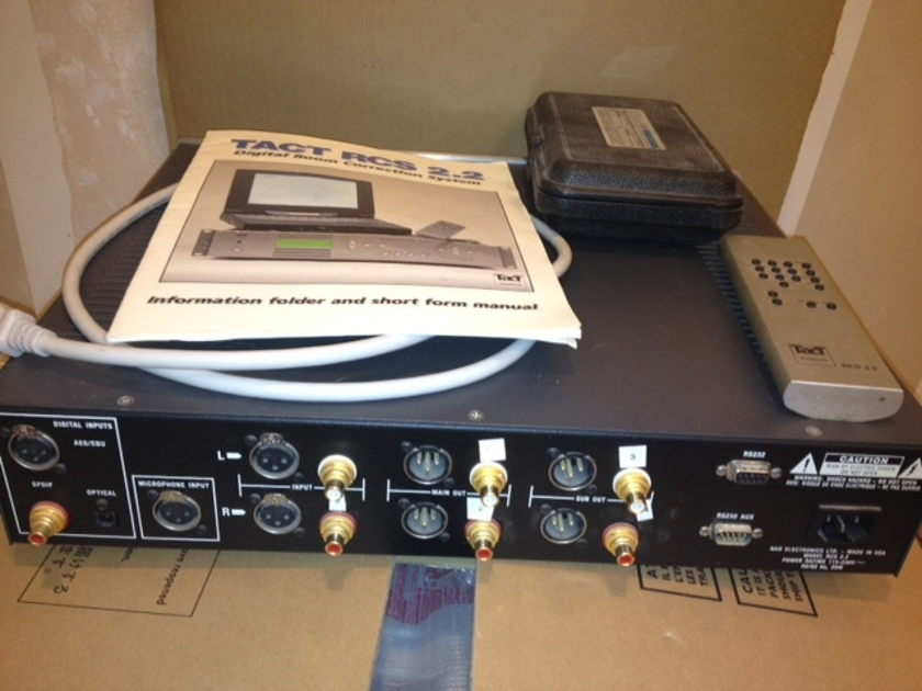 TACT PRE AMP ROOM CORRECTION RCS 2.2