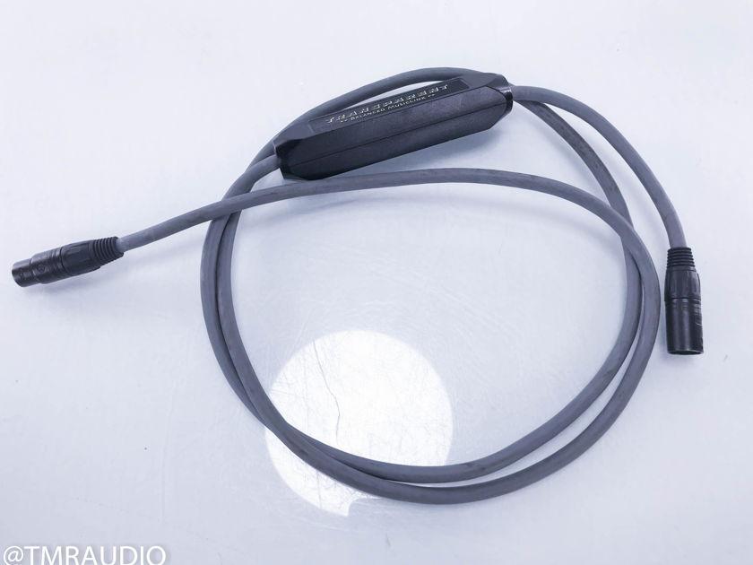 Transparent Audio Balanced Musiclink XLR Cable; Single 2m Interconnect(10658)