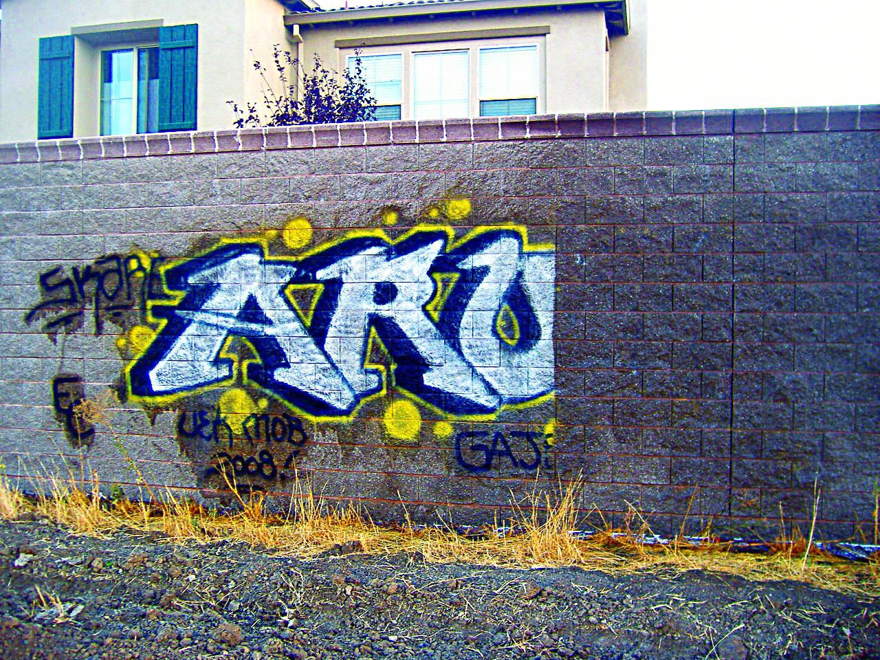 cinder block - Graffiti Removal