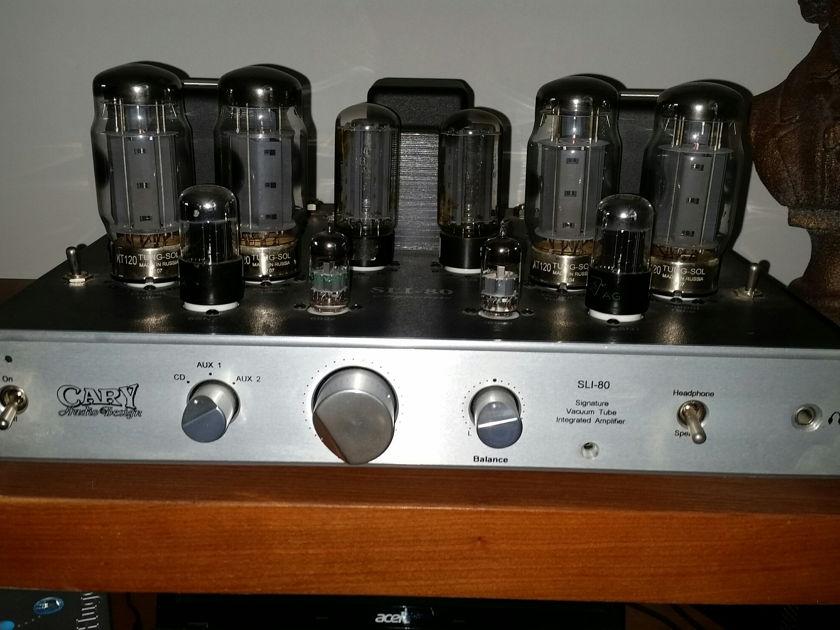 Cary Audio Design SLI-80 sig plus extra tubes