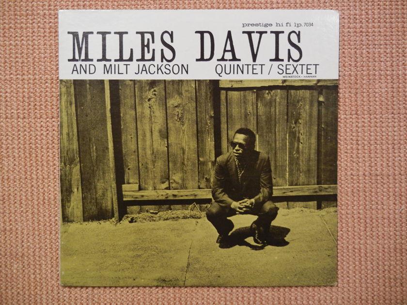 Miles Davis - Prestige 7034 and Milt Jackson