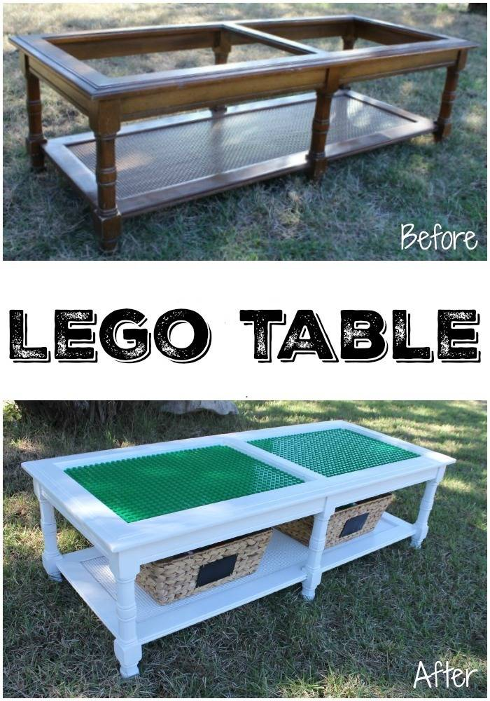 old table to LEGO table