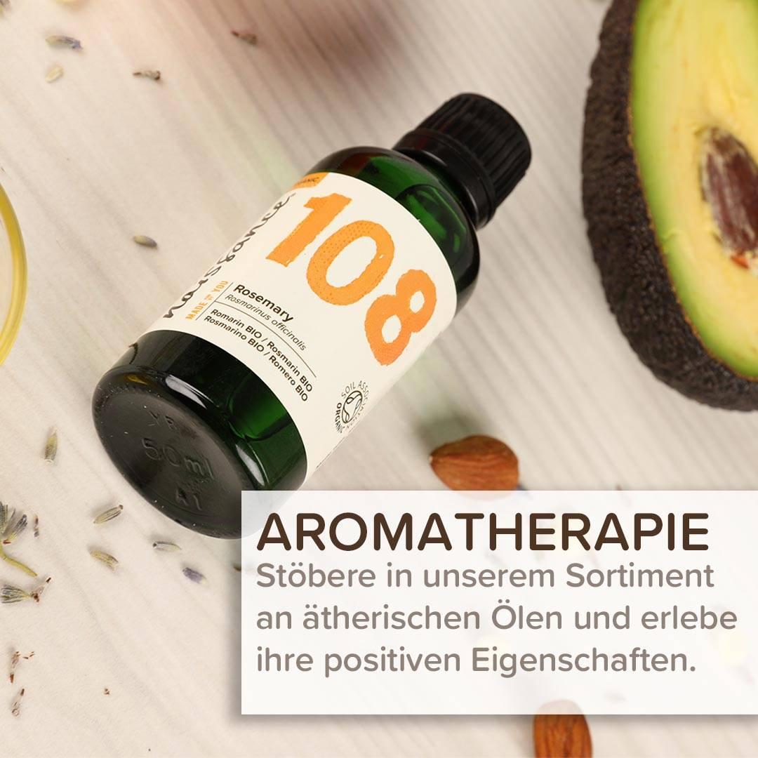 Aromatherapie und ätherisches Öl