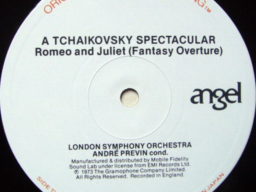 ★Audiophile★ MFSL / PREVIN, - Tchaikovsky 1812 Overture, NM-!