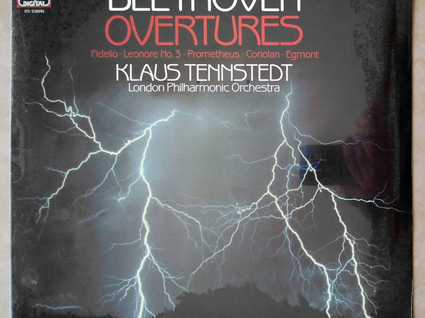 Sealed EMI Digital   TENNSTEDT/BEETHOVEN - Overtures - Fidelio, Leonore No.3, Prometheus, Coriolan, Egmont