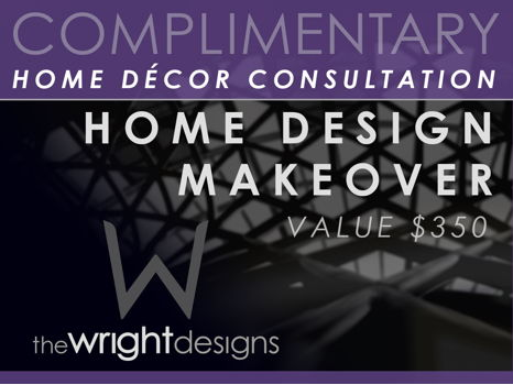 Home Design Makeover by The Wright Designs