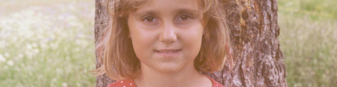 Детская фотосессия в Барселоне на пленку