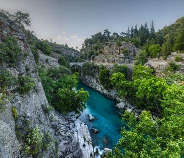 Каньоны Анталии: природный заповедник Кёпрюлю