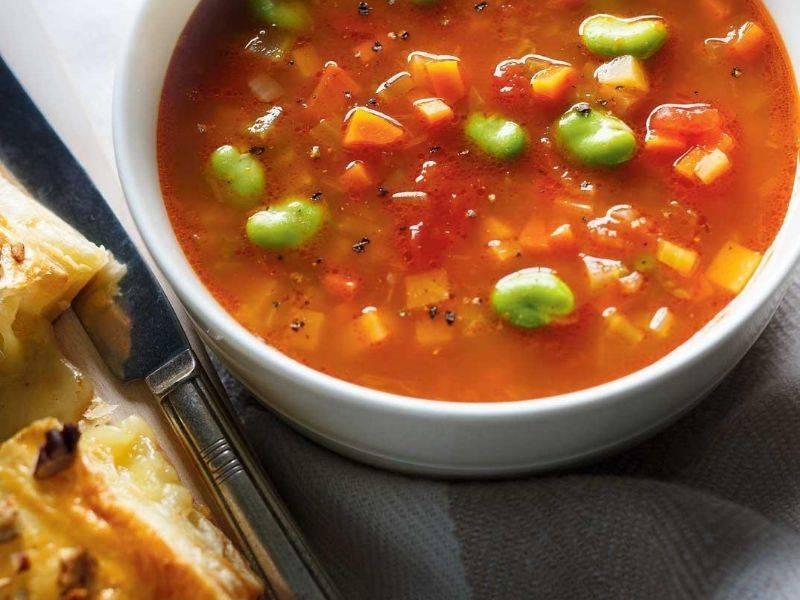 soupe de légumes au millet la boite du chef