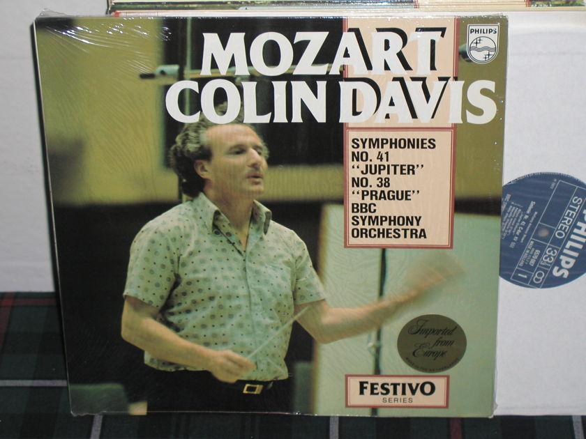 Davis/BBSCO - Mozart 41/38 Philips Import pressing 6570