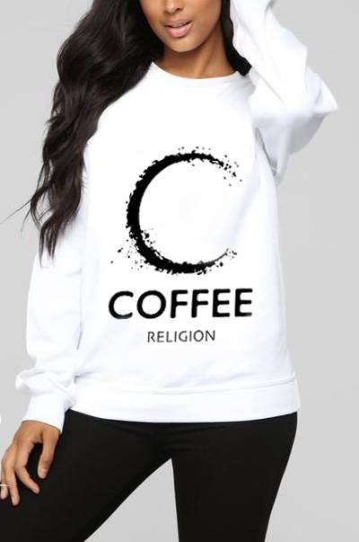 coffee religion pullover