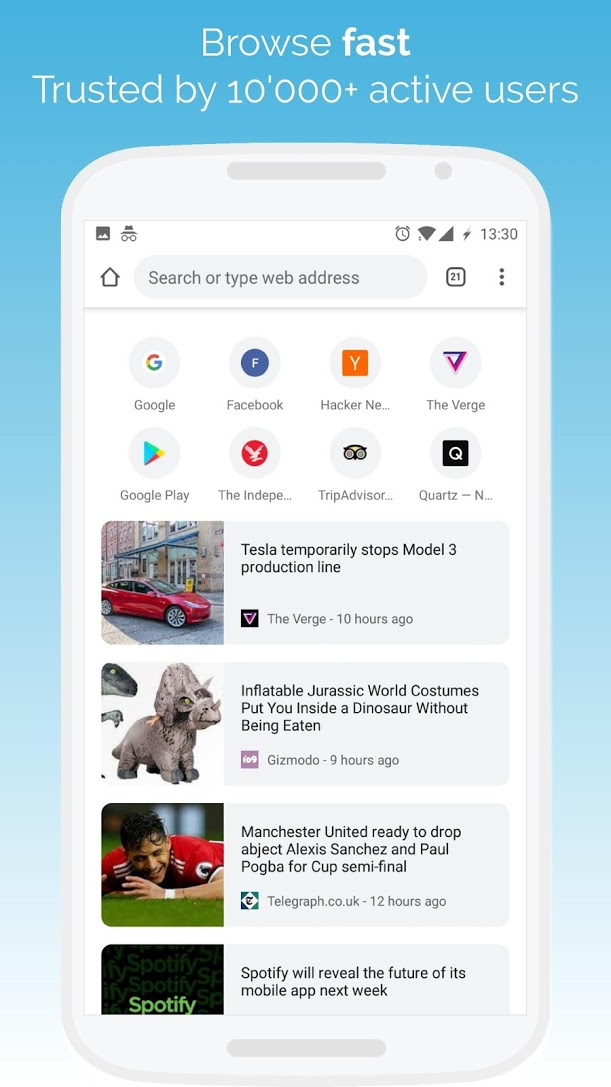 7 Best mobile browsers as of 2019 - Slant