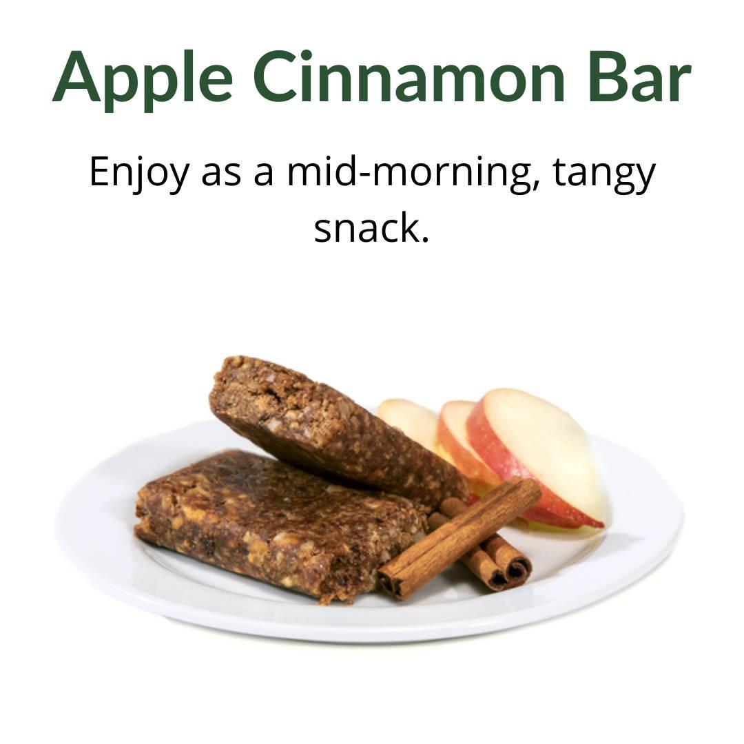 Apple Cinnamon Bar: Enjoy as a mid-morning, tangy snack.