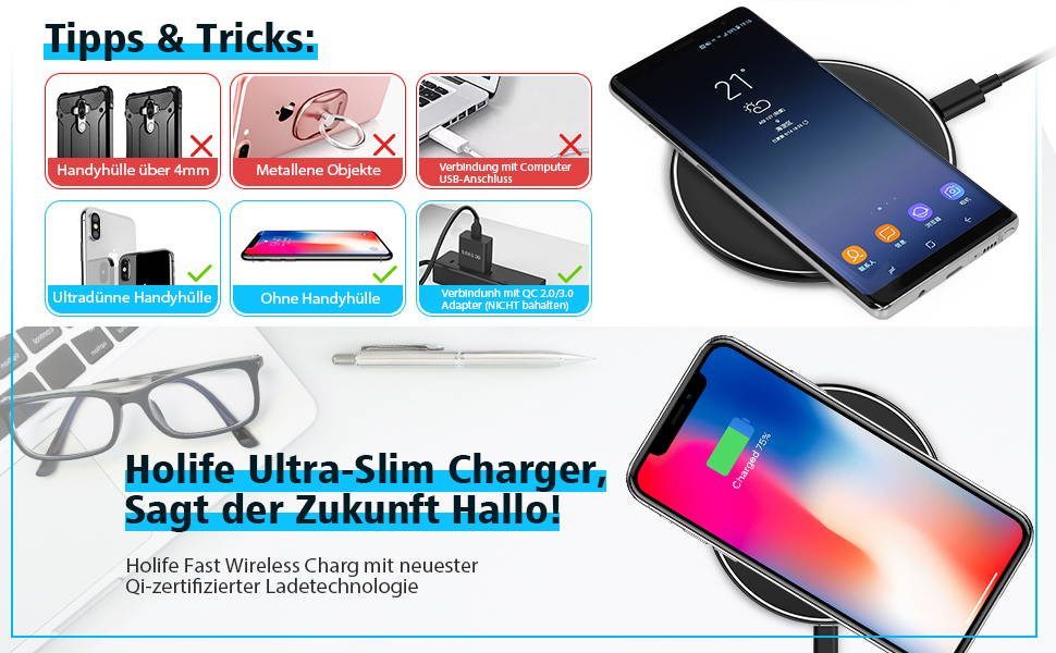 when to charge iphone holife fast wireless charger holife schlaf 5473