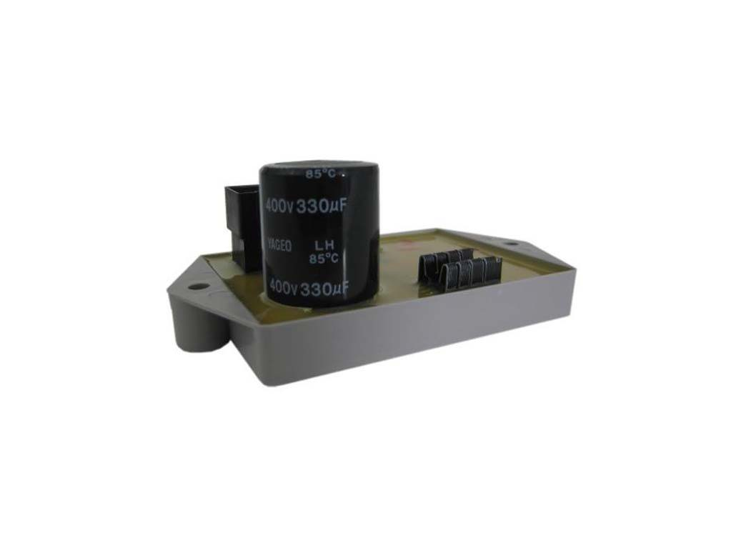 voltage regulator for exciter generator end