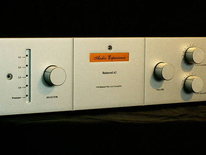 Ys Audio Experience Balanced A2 line preamplifier (version 1.5