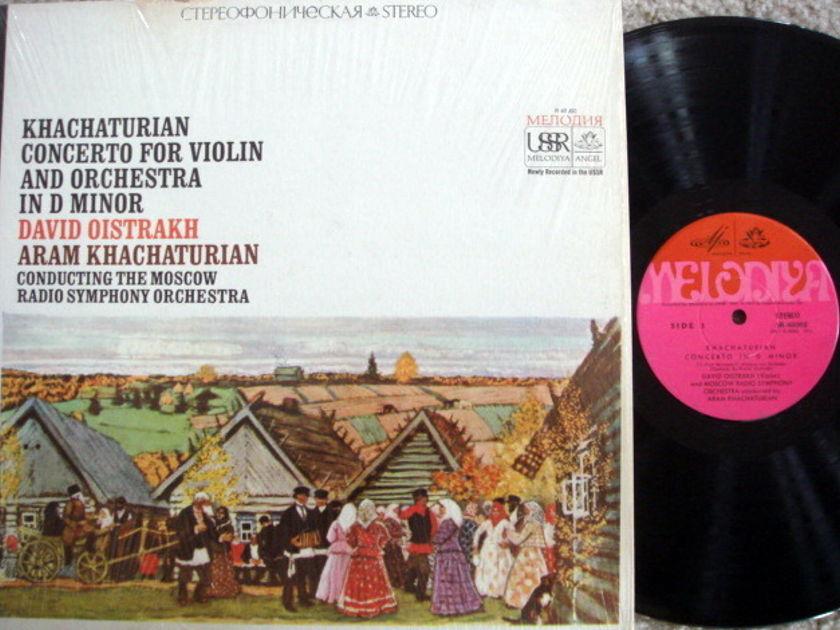 EMI Angel Melodiya / OISTRAKH/KHACHATURIAN, - Khachaturian Violin Concerto, MINT!