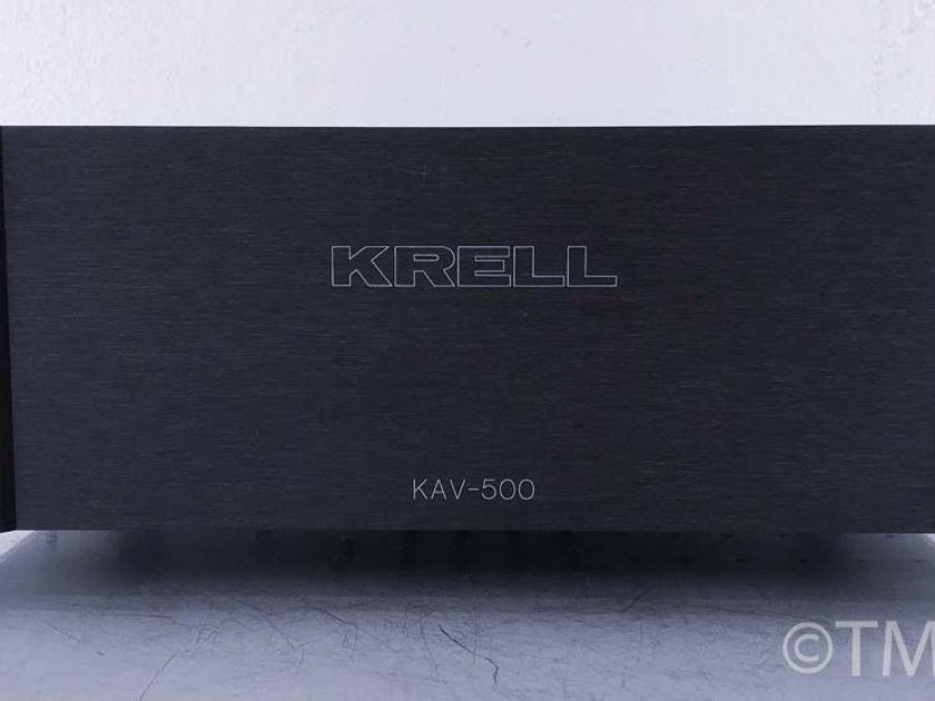 Krell KAV-500 Stereo Power Amplifier(10638)