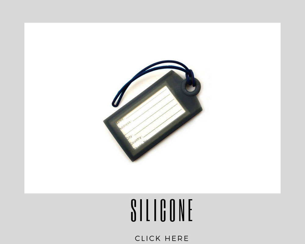 Custom Corporate Silicone Luggage Tags