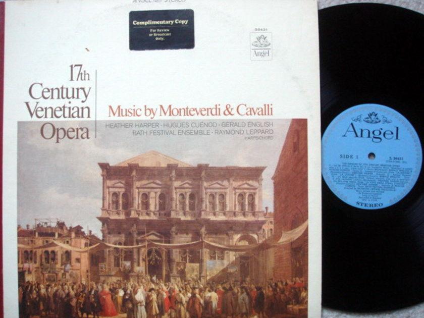 EMI Angel Blue / LEPPARD, - 17th Century Venetian Opera,  NM-, Promo Copy!