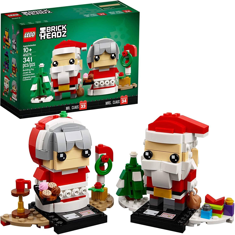 Brick Santa Hedz And His Wife