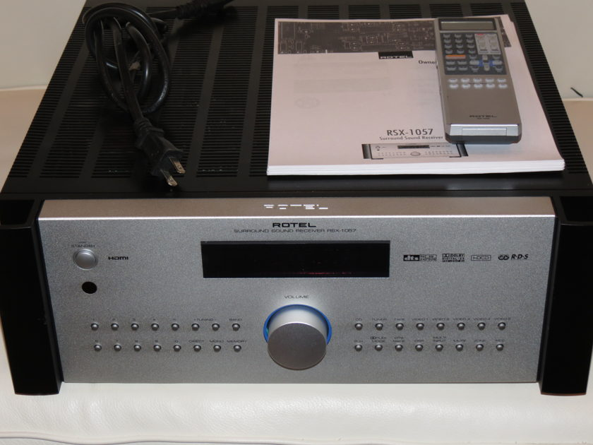 Rotel RSX1057 Silver Surround Receiver