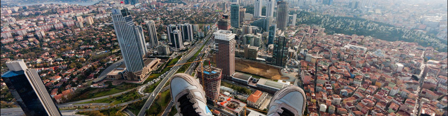 Стамбул с высоты. Прогулка по крышам Стамбула