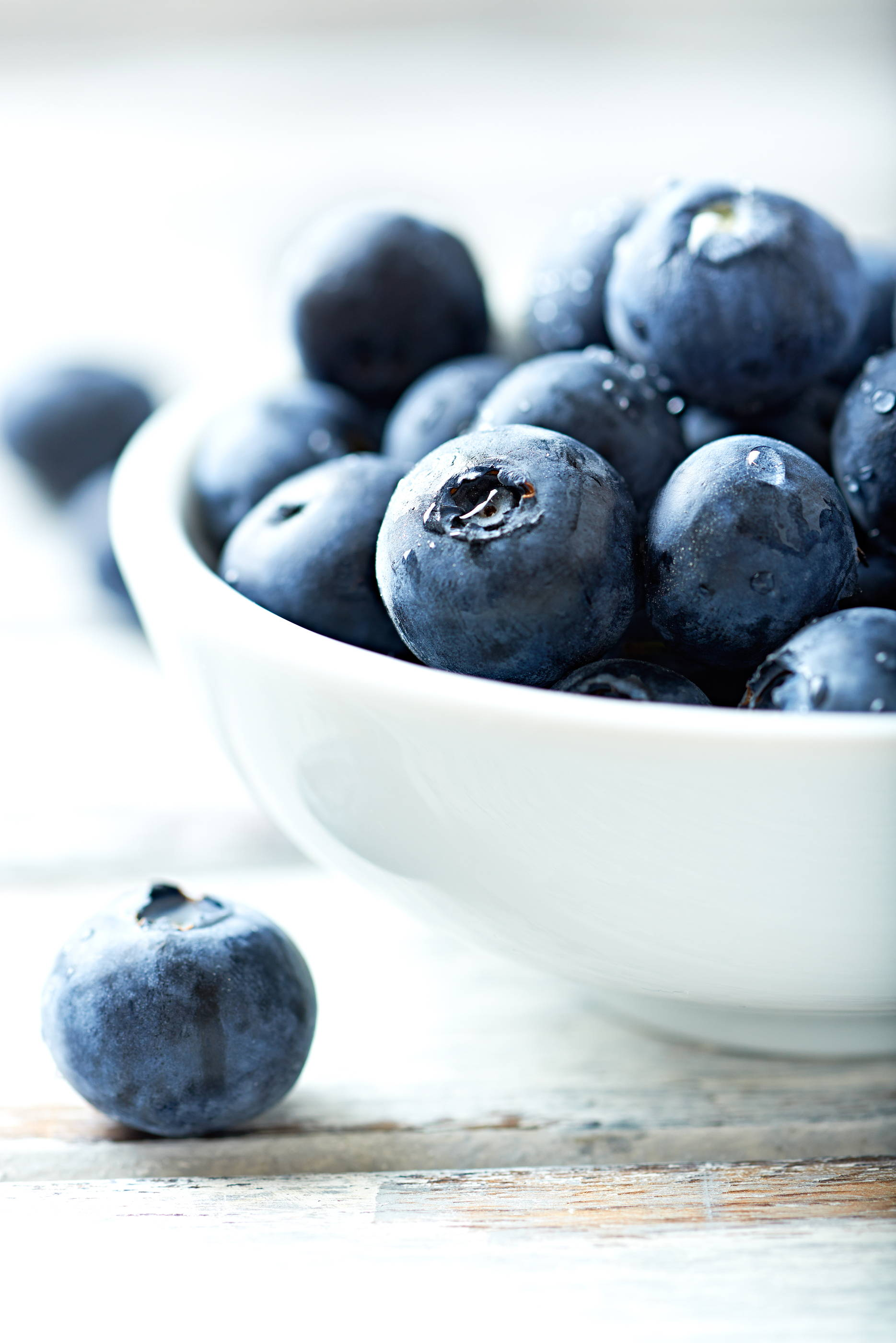 Consuming antioxidants such as blueberries provides protection to the cells