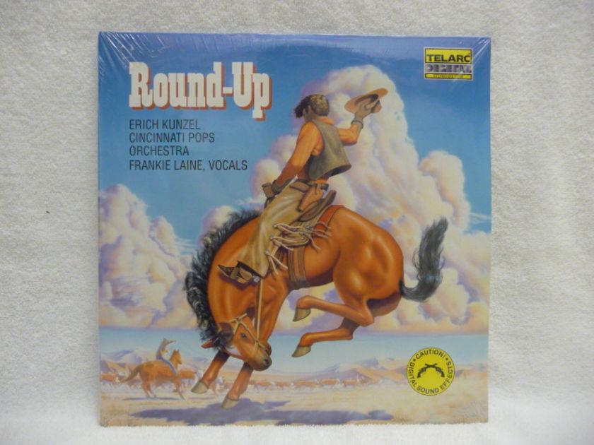 ROUND UP  - TELARC LP  SEALED AUDIOPHILE