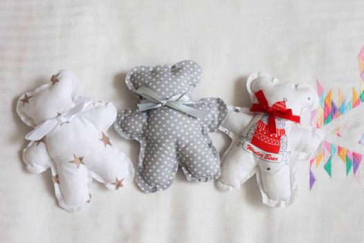 """Детская игрушка """"Мишка """" из натурального хлопка"""