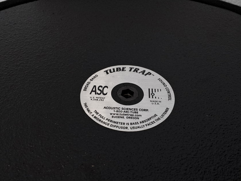 "Acoustic Sciences Tube Trap 16"" x 48""  Round - Black [2 Items]"