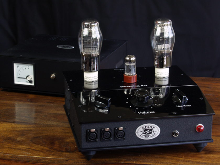 Eddie Current Balancing Act Headphone and Preamp
