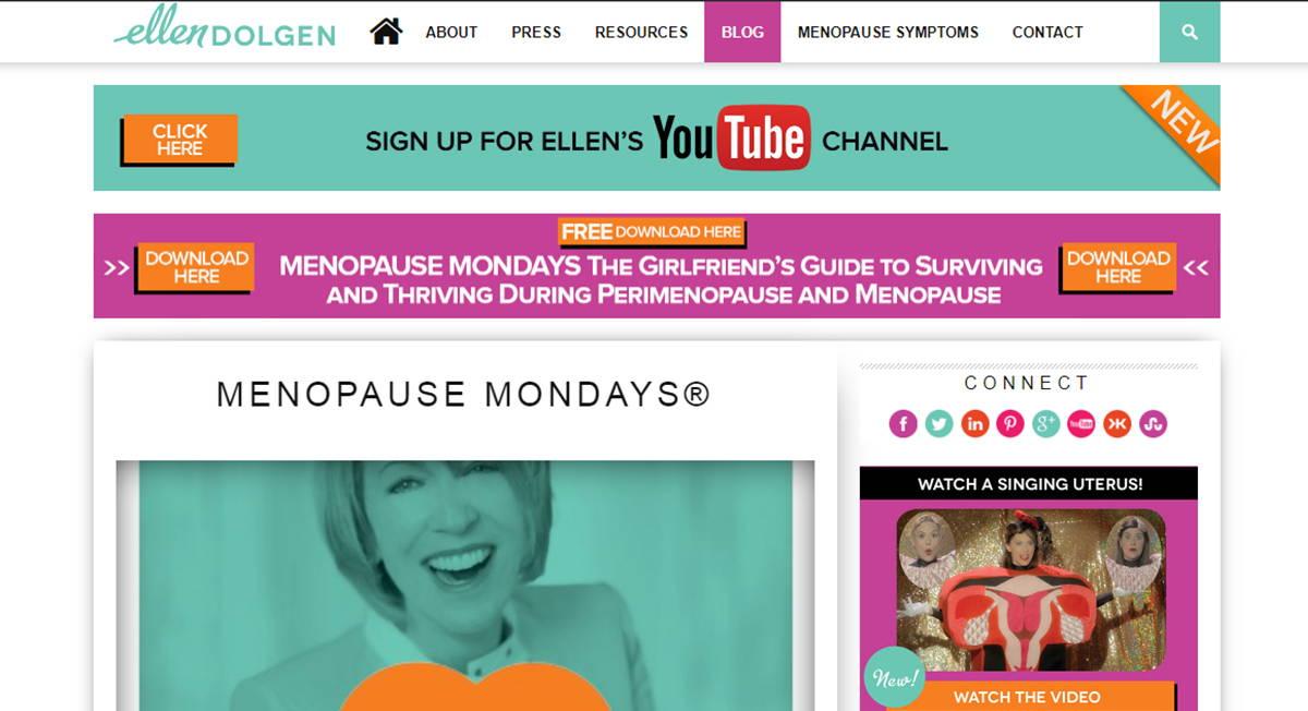 Menopause Mondays by Ellen Dolgen