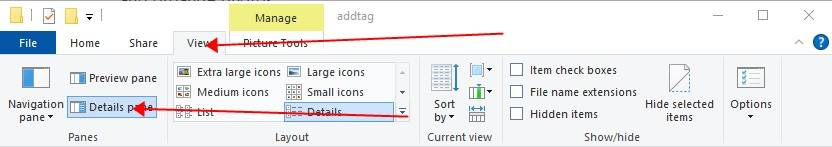 Before you start adding tags you need to set up your folder like this