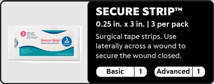Secure Strip