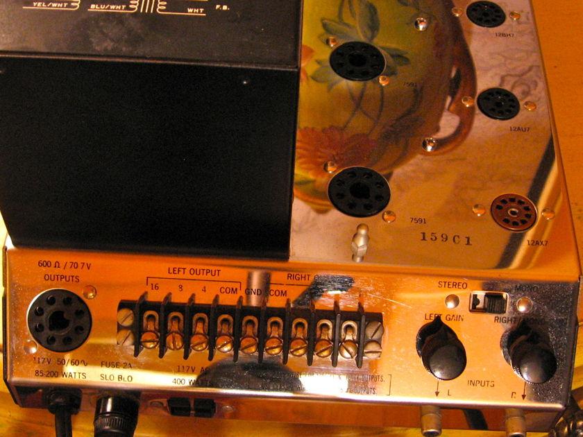 McIntosh MC225 Tube Amplifier