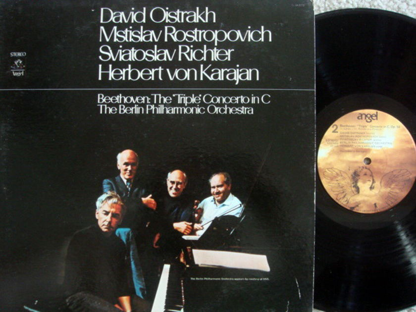 EMI Angel / OISTRAKH, - Beethoven Triple Concerto, NM!