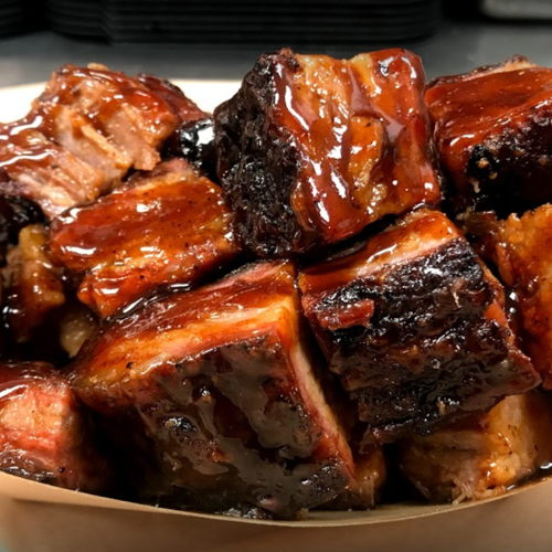 Picture of Porky Butts BBQ is open for takeout, curbside service and third-party delivery.