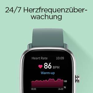 Amazfit GTS 2 mini - 24H Herzfrequenzüberwachung