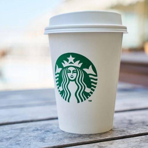 starbucks cup of coffee