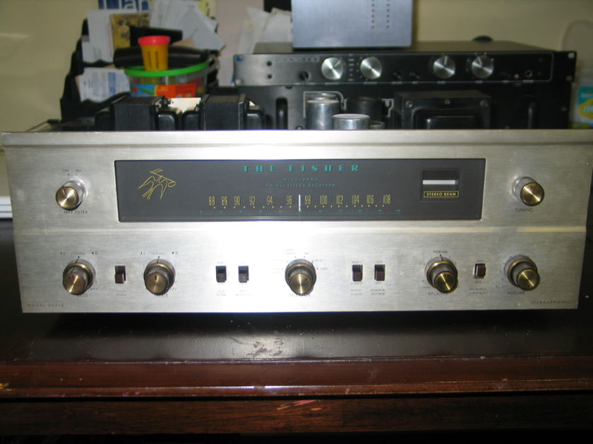 Fisher  500B Tube Receiver Excellent with rare tubes included!