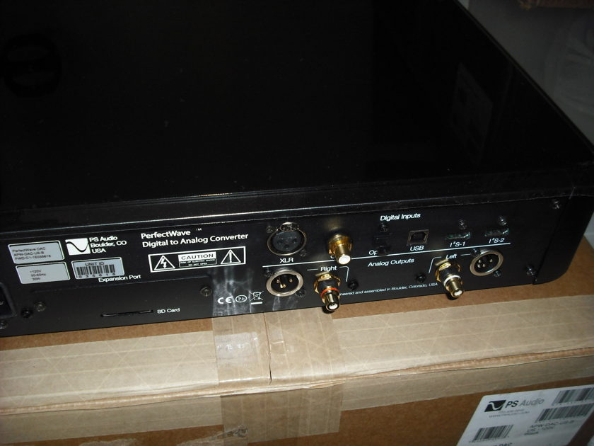 PS Audio Perfect Wave Dac Black
