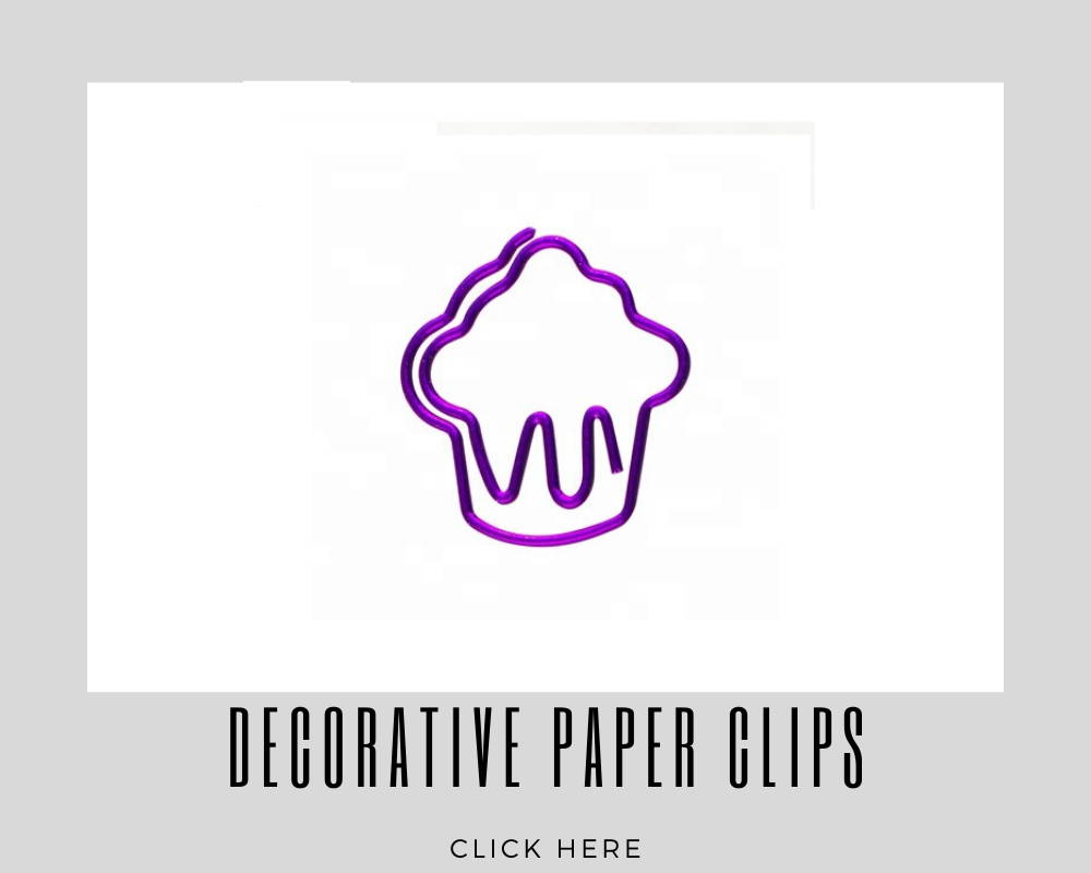 Giveaways Promotional Decorative Paper Clips