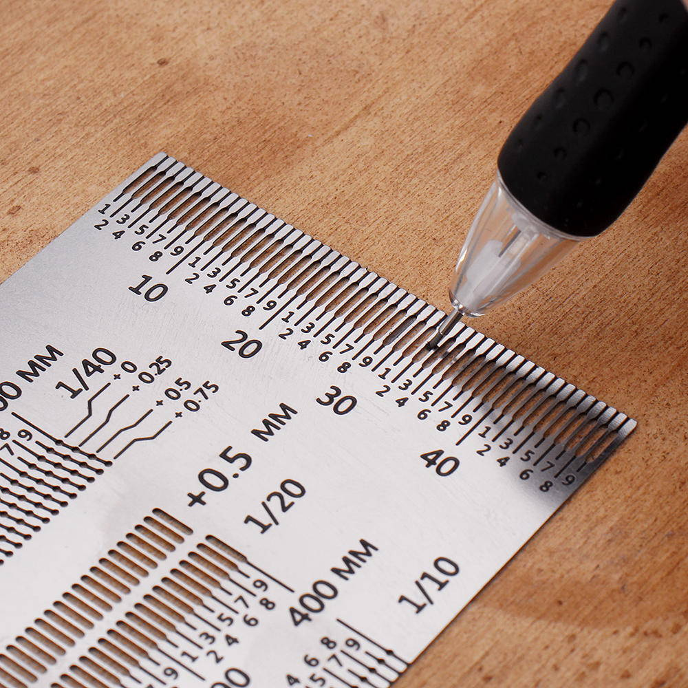 gauge precision ruler