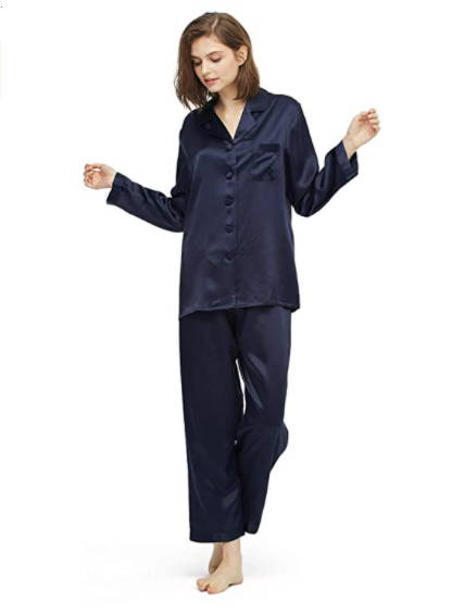Does your mom usually wear pajamas at home? If yes, don't hesitate to buy her silk pajamas. They're the best pajamas for women that are made from real Mulberry silk - the highest quality silk. Mom always wants the best thing for her child, and you also want to get the best stuff for mom too, right? Trust me, your mom deserves it and she would love this gift so much.