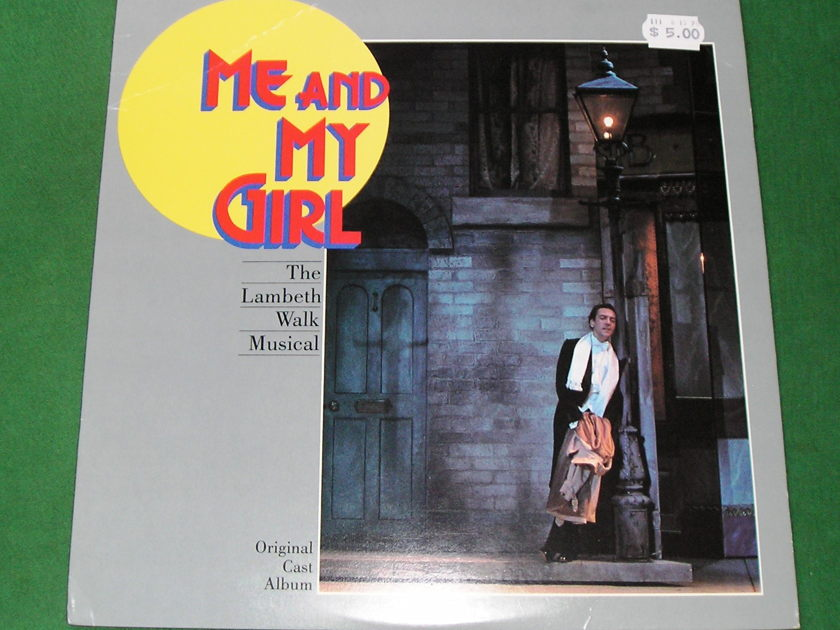 ME AND MY GIRL - FEATURING EMMA THOMPSON - * RARE MANHATTAN RECORDS 1st PRESS * NM 9/10