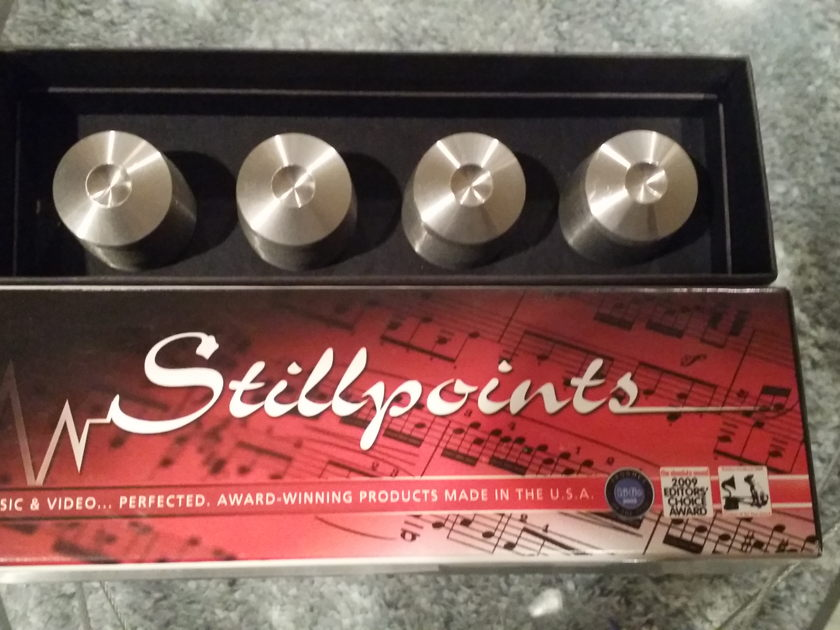 Stillpoints Ultra SS,  With Dimple Head, Excellent Condition